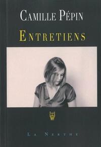 """Camille Pépin - Entretiens - """"Un espace à soi""""."""