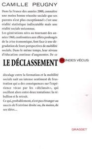 Camille Peugny - Le déclassement.