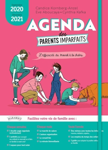 Agenda des parents imparfaits  Edition 2020-2021