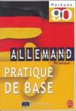 Camille Sorg et Werner Kremp - Allemand Débutant - Pratique de base. 3 Cassette audio
