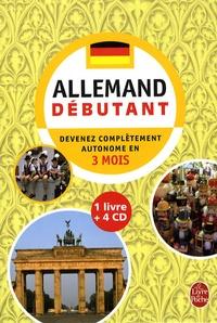 Camille Sorg et Werner Kremp - L'allemand - Débutant. 4 CD audio