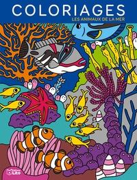 Camille Tisserand - Coloriages Les animaux de la mer.