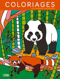Camille Tisserand - Coloriages Les animaux sauvages.