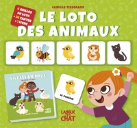 Camille Tisserand - Le loto des animaux.