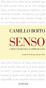 Camillo Boito - Senso - Carnet secret de la comtesse Livia.