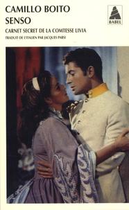 Camillo Boito - Senso - Carnet secret de la princesse Livia.