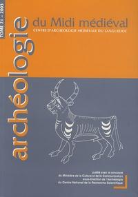 Christine Rendu - Archéologie du Midi médiéval N° 21/2003 : La montagne.