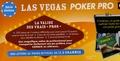"""Canal+ et Sylvie Petitjean - Las Vegas Poker Pro - La valise des vrais """"pros""""."""
