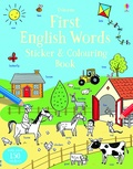 Candice Whatmore - First English Words - Sticker & Colouring Book.