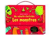Candice Whatmore et Kirsteen Rogers - Ma valisette d'activités les monstres - Les monstres : livre de coloriage ; Activités avec les monstres ; Les monstres ; Autocollants de monstres.