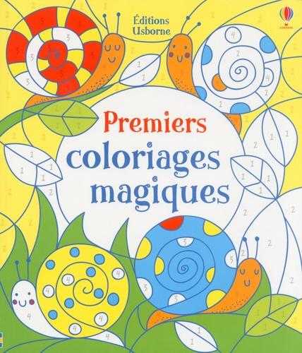 Candice Whatmore et Fiona Watt - Premiers coloriages magiques.