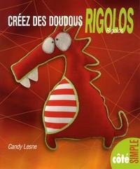 Candy Lesne - Créez des doudous rigolos.