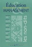 Denis Tillinac et Alain Etchegoyen - Education & Management N° 15, mai 1995 : Les non-dits.