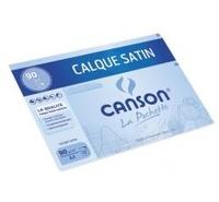 CANSON - Papier calque Canson A4 90g - Pochette 12 feuilles