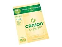 CANSON - Papier dessin Canson C à Grain A3 180g - Pochette 10 feuilles