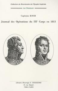 Rhonealpesinfo.fr Journal des opérations des IIIe et Ve Corps en 1813 Image