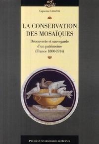 Capucine Lemaître - La conservation des mosaïques - Découverte et sauvegarde d'un patrimoine (France 1800-1914).