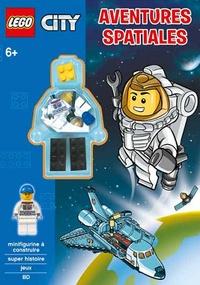 Carabas Editions - Lego City. Aventures Spatiales - Minifigurine à construire. 6+.
