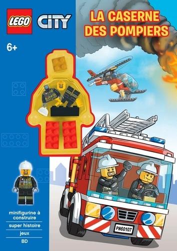 Carabas Editions - Lego City - La caserne des pompiers.