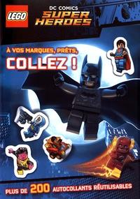 Carabas Editions - Lego DC Comics Super Heroes - A vos marques, prêts, collez !.