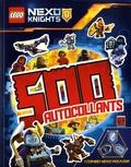 Carabas Editions - Lego Nexo Knights - 500 autocollants.