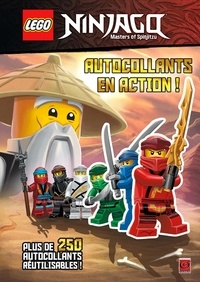 Carabas Editions - Lego Ninjago autocollants en action.