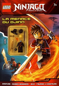 Carabas Editions - LEGO Ninjago - La menace du djinn.