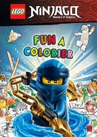 Carabas Editions - Lego Ninjago - Fun à colorier.