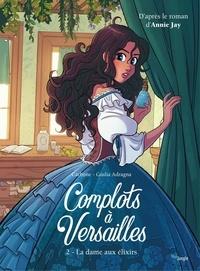 Carbone et Giulia Adragna - Complots à Versailles - Tome 2.