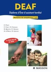 Carène Ponte - DEAF Diplôme d'Etat d'assistant familial - Domaines de compétences 1 à 3.