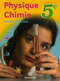 Carine Beauvais et Thierry Finot - Physique Chimie 5e - Manuel élève.