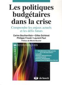 Deedr.fr Les politiques budgétaires dans la crise - Comprendre les enjeux actuels et les défis futurs Image