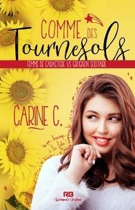 Carine C. - Comme des tournesols.