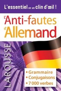 Carine Girac-Marinier - L'anti-fautes d'allemand.