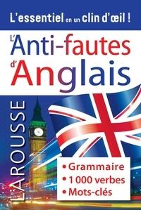 Carine Girac-Marinier - L'anti-fautes d'anglais.