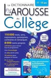 Carine Girac-Marinier - Le dictionnaire Larousse du Collège bimédia - Avec 1 carte d'activation du Dictionnaire Internet Larousse Collège.