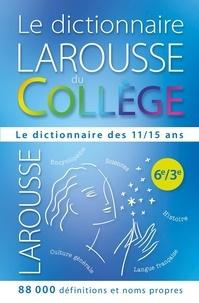 Carine Girac-Marinier - Le dictionnaire Larousse du collège offert en récompense scolaire.