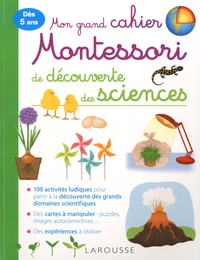 Carine Girac-Marinier - Mon grand cahier Montessori de découverte des sciences.