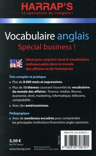 Vocabulaire anglais. Spécial business !