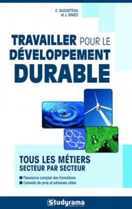 Carine Guicheteau et Julie Giniès - Travailler pour le développement durable.