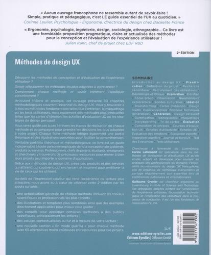 Méthodes de design UX. 30 méthodes fondamentales pour concevoir des expériences optimales 2e édition