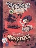 Carine-M et Elian Black'Mor - Spooky & les contes de travers Tome 1 : Pension pour monstres.