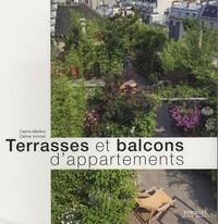 Carine Merlino et Céline Vonnet - Terrasses et balcons d'appartements.