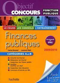 Carine Roussel et Laurence Weil - Finances publiques 2009-2010.