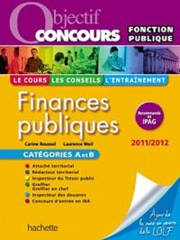 Carine Roussel et Laurence Weil - Finances publiques Catégories A et B.