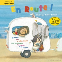 Carine Sanson - En Route !. 1 CD audio