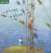 Carine Sanson - Les p'tites bêtes - 15 chansons d'animaux et d'insectes. 1 CD audio
