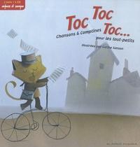 Carine Sanson - Toc Toc Toc... - Chansons & comptines pour les tout-petits. 1 CD audio