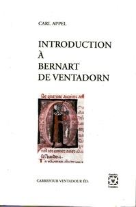 Carl Appel - Introduction à Bernart de Ventadorn.