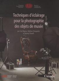 Carl Bigras et Mylène Choquette - Techniques d'éclairage pour la photographie des objets de musée.